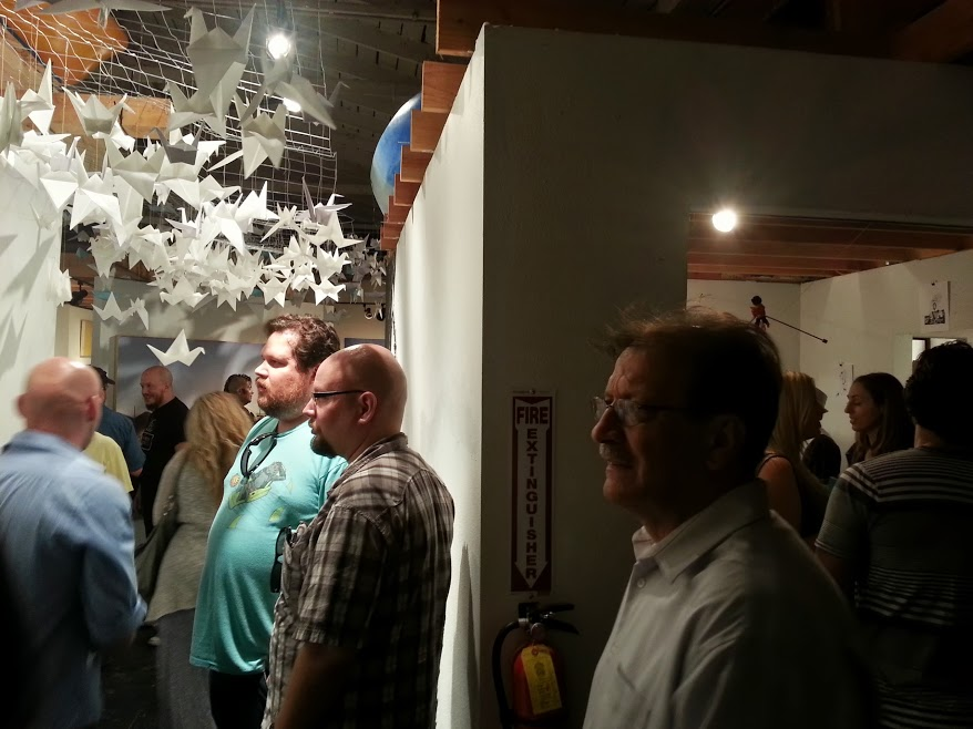 August Artwalk Features Famous Local Artists